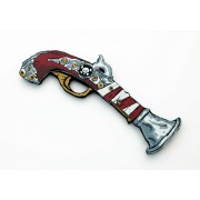 Pirate Red Stripe pistol