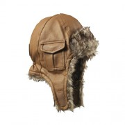 Chestnut Leather Cap 6-12 mdr