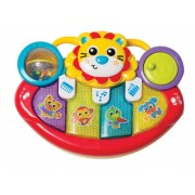 Lion Activity Kick Toy Piano